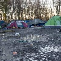 Camp de Grande Synthe agglomération de Dunkerque