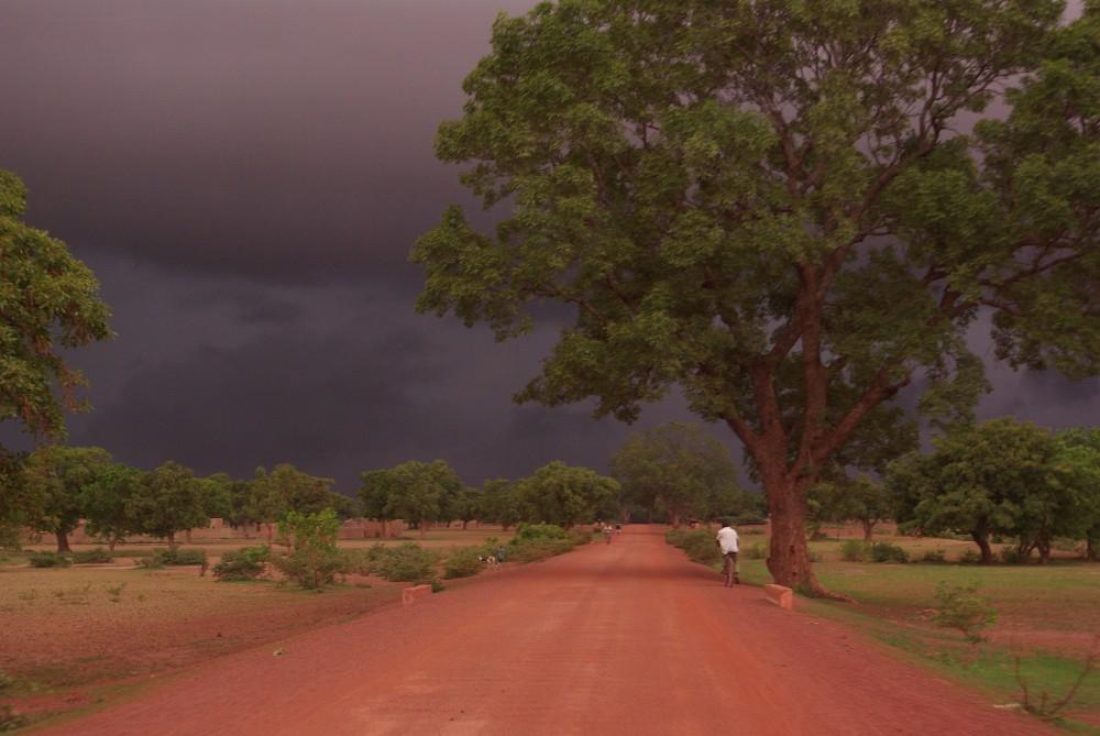 Burkina Faso L'orage
